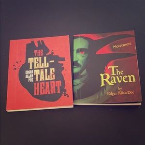 Edgar Allan Poe mini books